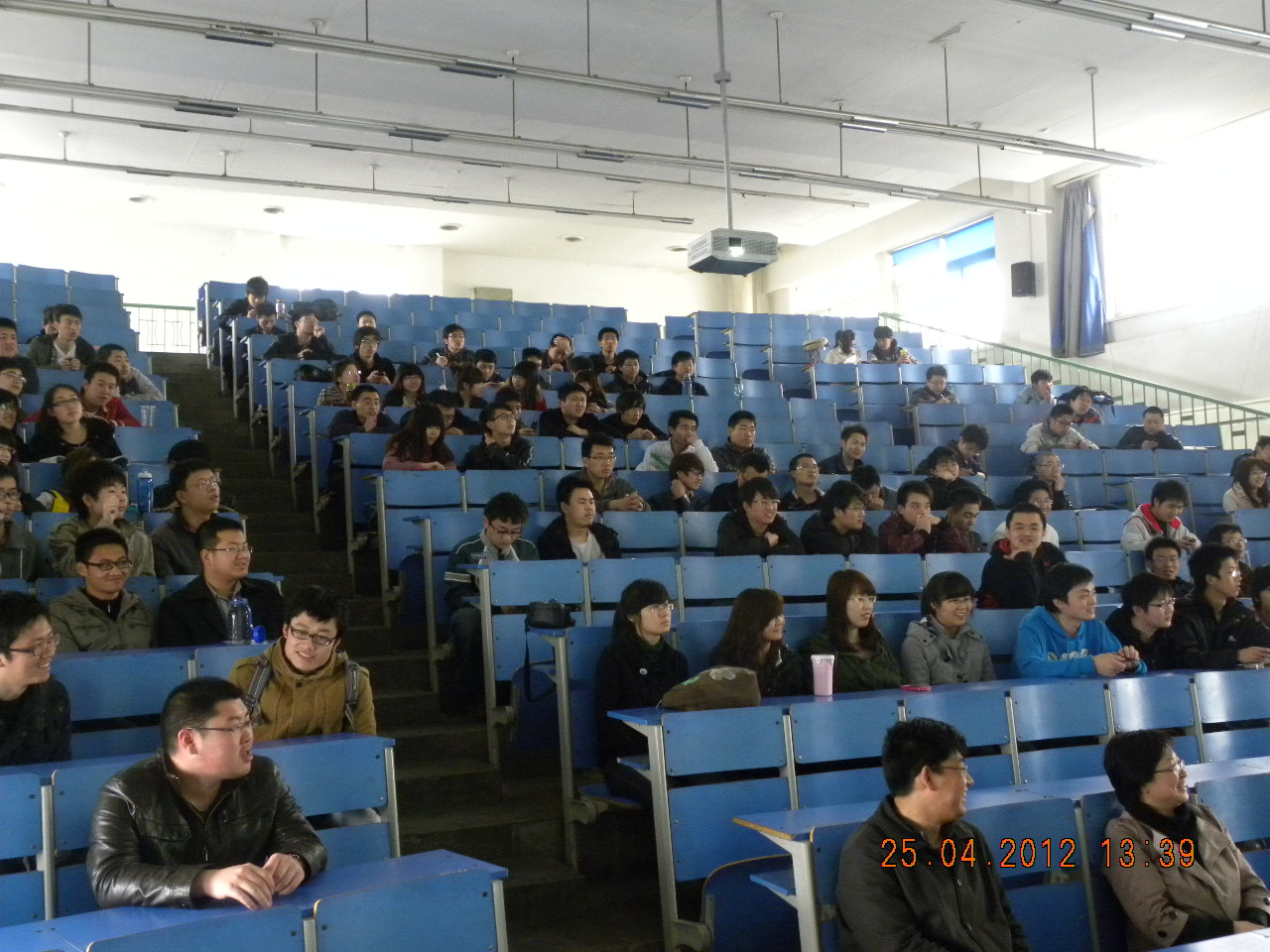 材料学院举办大学生职业生涯规划和就业心理讲座图片